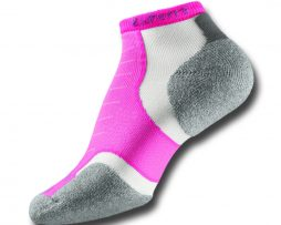 THORLOS EXPERIA RUNNING SOCK ELECTRIC PINK