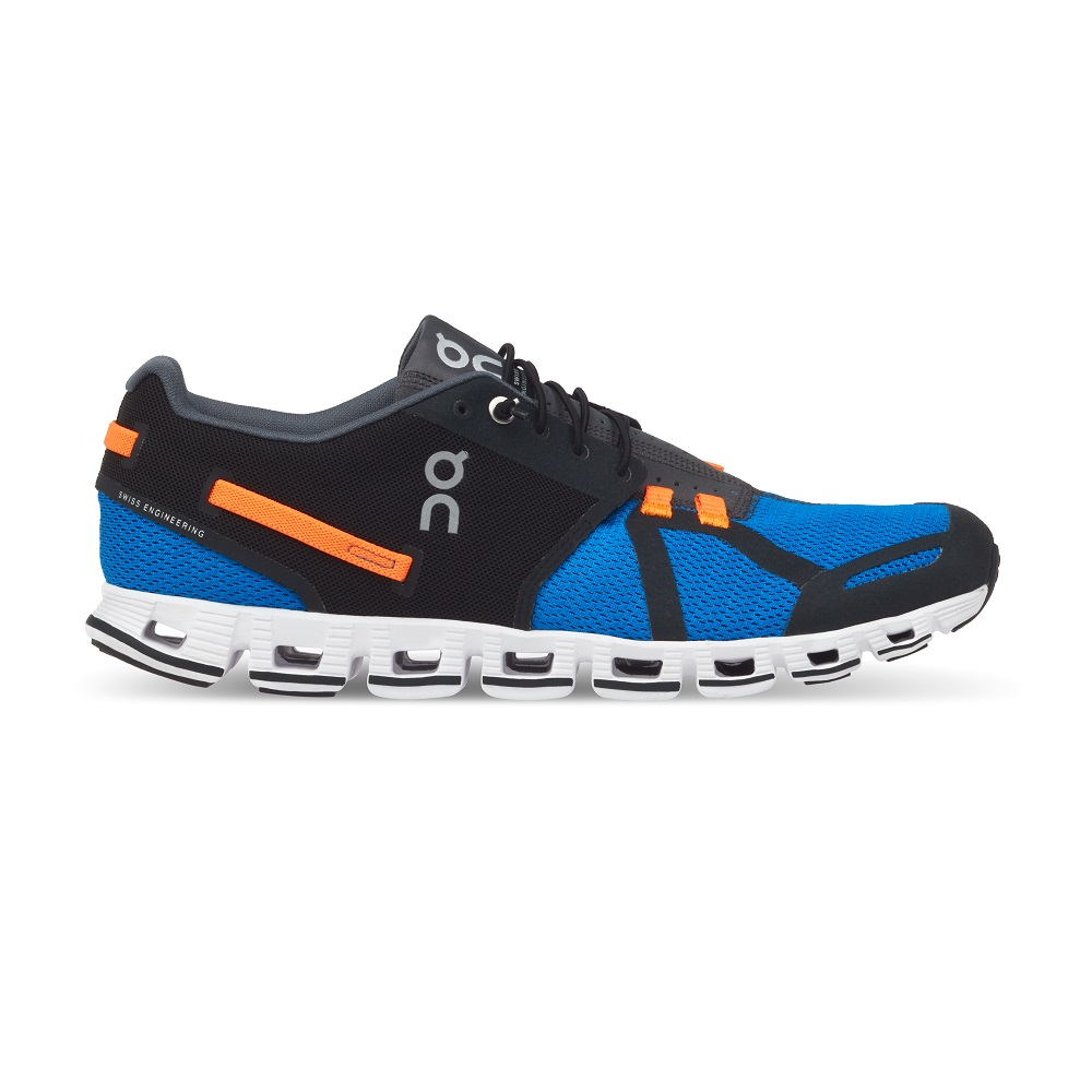 On Cloud Men's Black/Blue