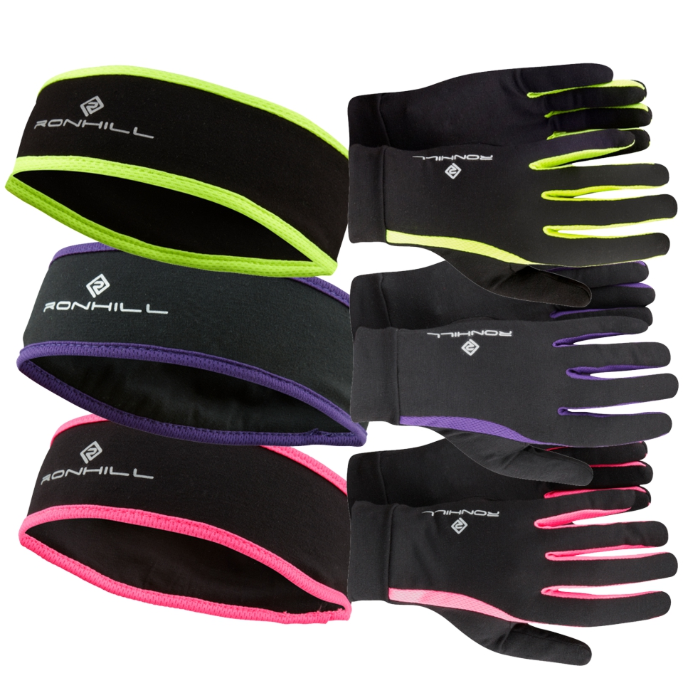 Ronhill Headband and Glove RH-000874