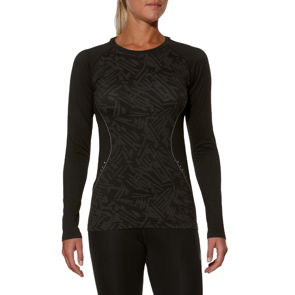 ASICS LONG SLEEVE SEAMLESS TOP 125907-0904