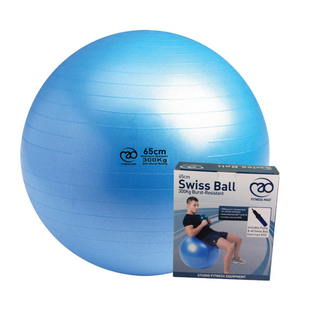 Fitness Mad Swiss Ball & dvd