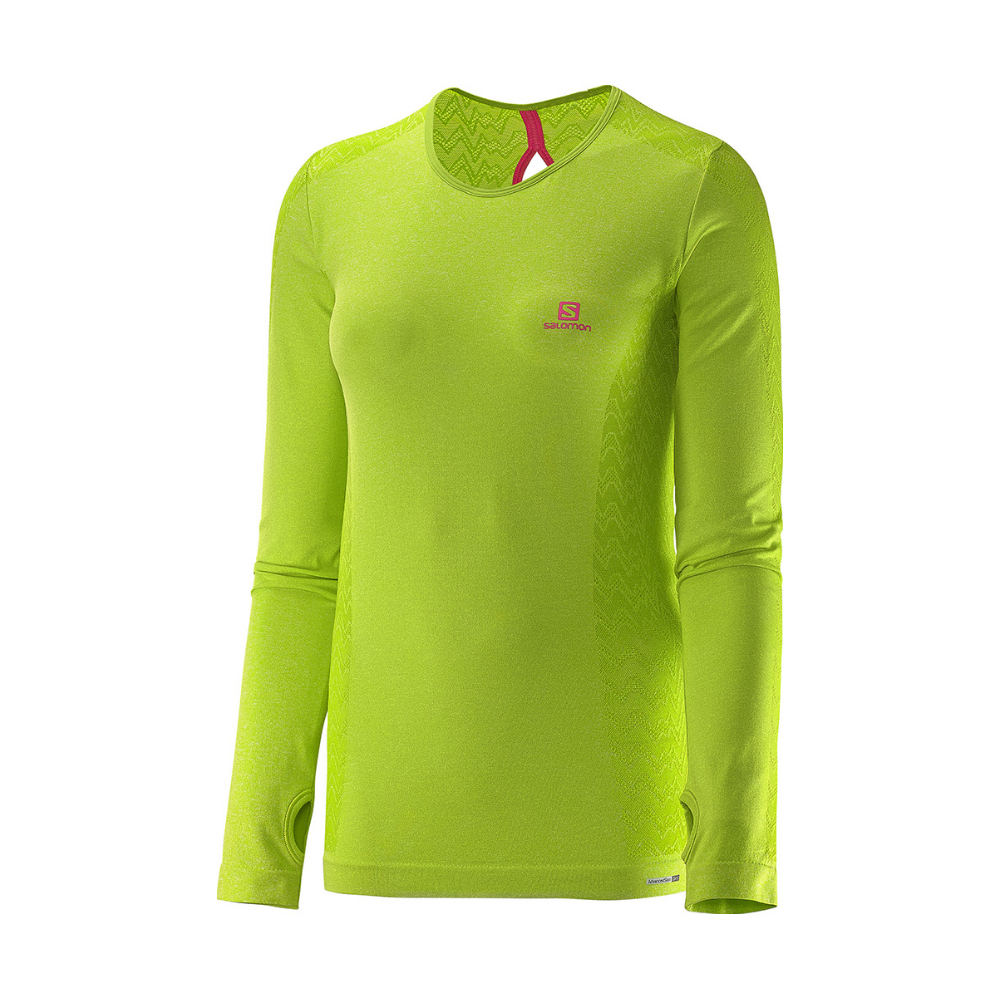 SALOMON ELEVATE SEAMLESS LS TEE L373953