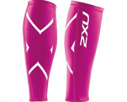 2XU UNISEX COMPRESSION CALF GUARDS PINK