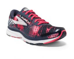 Brooks Launch 3 Womens Navy-Pink