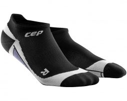 CEP NO SHOW SOCK BLACK WHITE