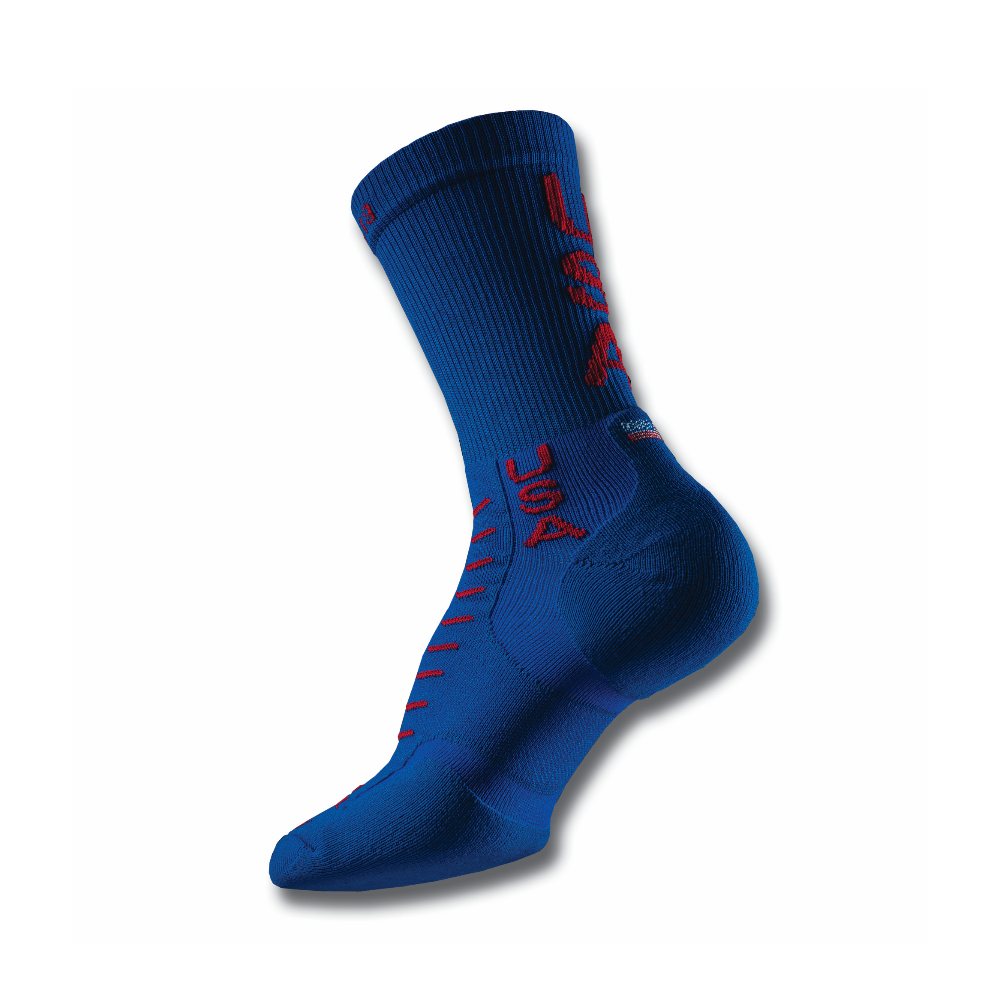 Mens CREW Experia Running Socks USA EDITION
