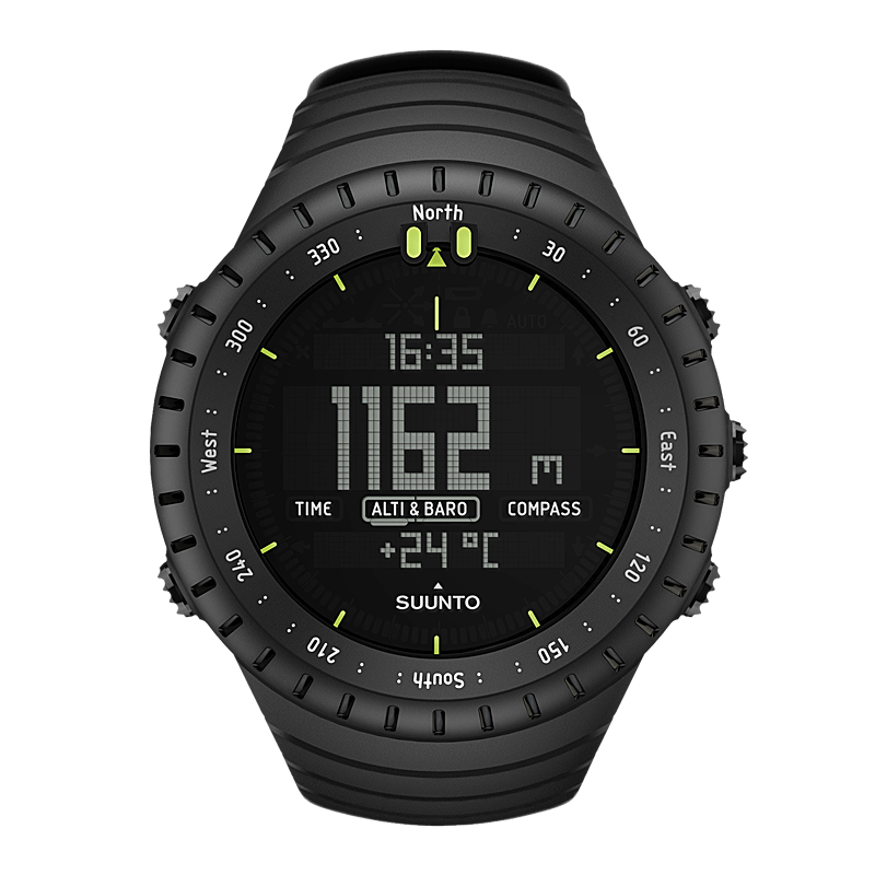 Suunto Core All Black - Alton Sports Running Specialists