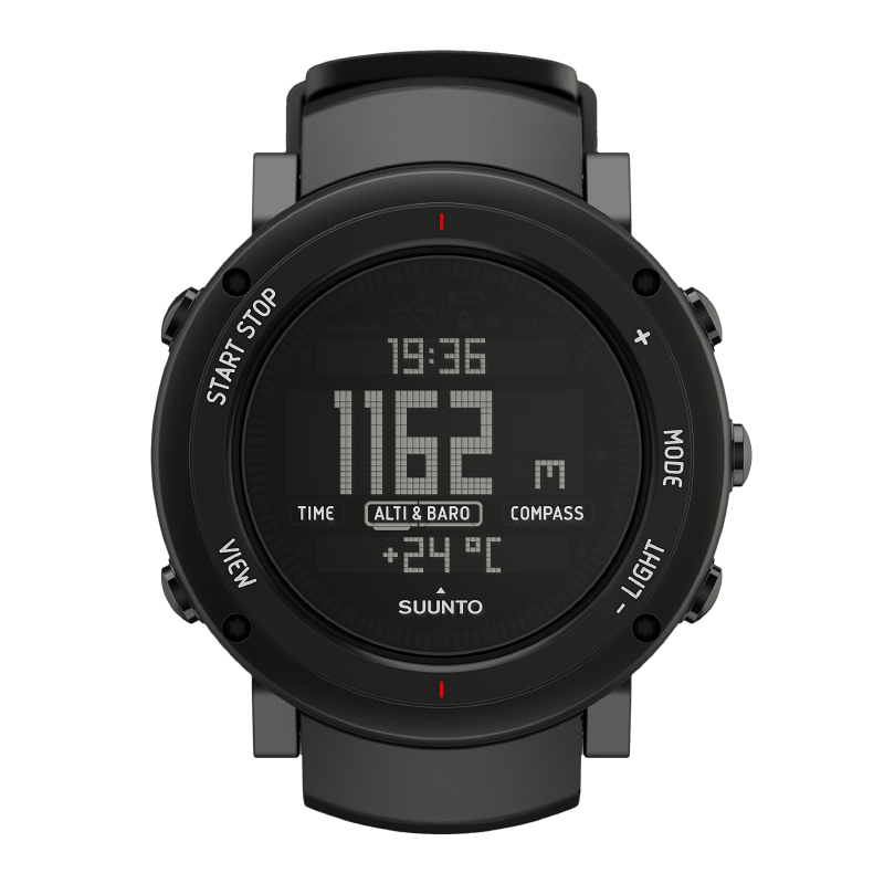 Suunto Core Alu Deep Black - Alton Sport Running Specialists