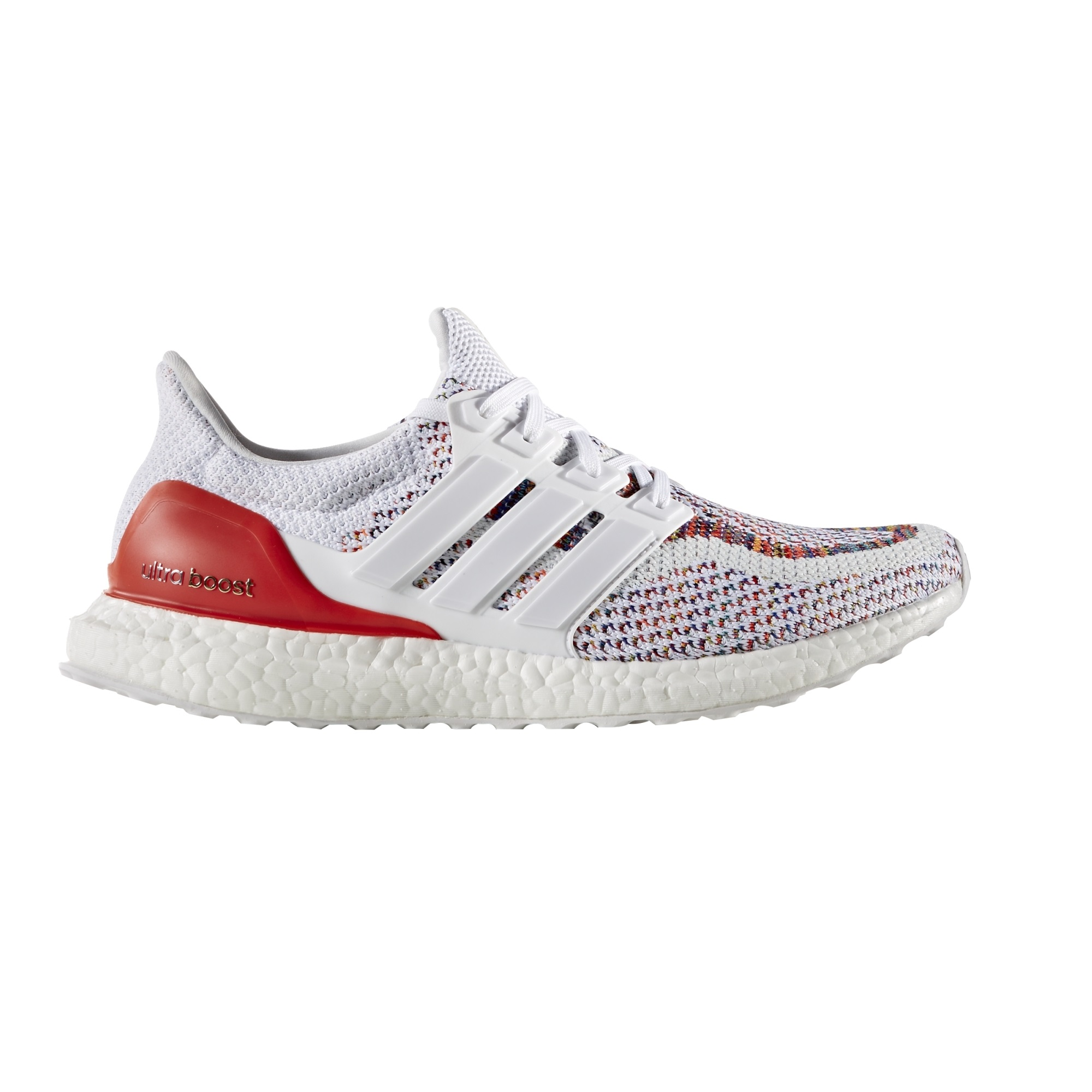 44a18329c106 Adidas Ultra Boost White Red - Alton Sports Running Specialist