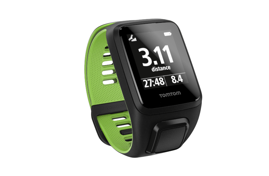 TomTom Runner 3 Cardio GPS, HR & Fitness Watch