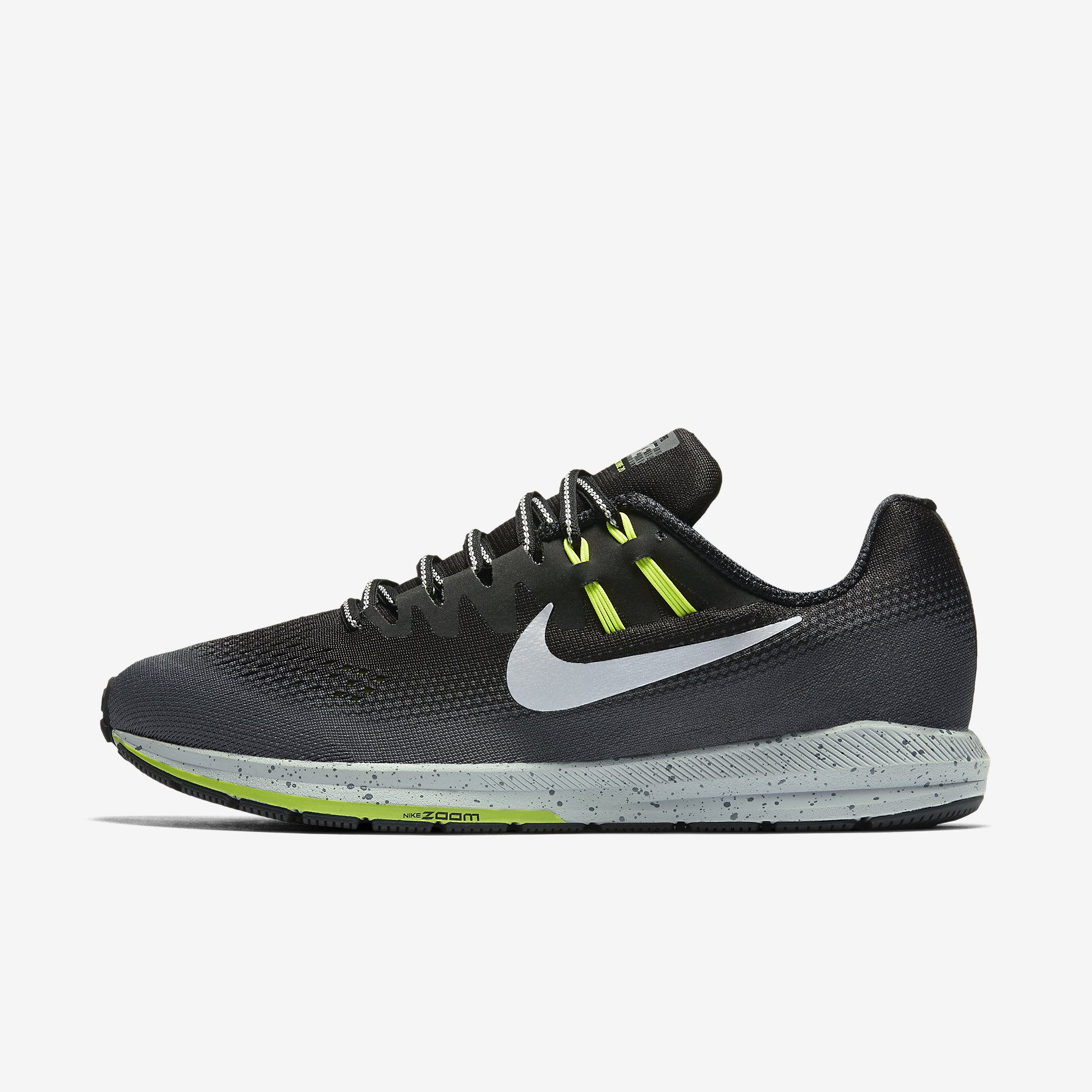 nike air zoom structure 20 shield men 39 s running alton sports. Black Bedroom Furniture Sets. Home Design Ideas