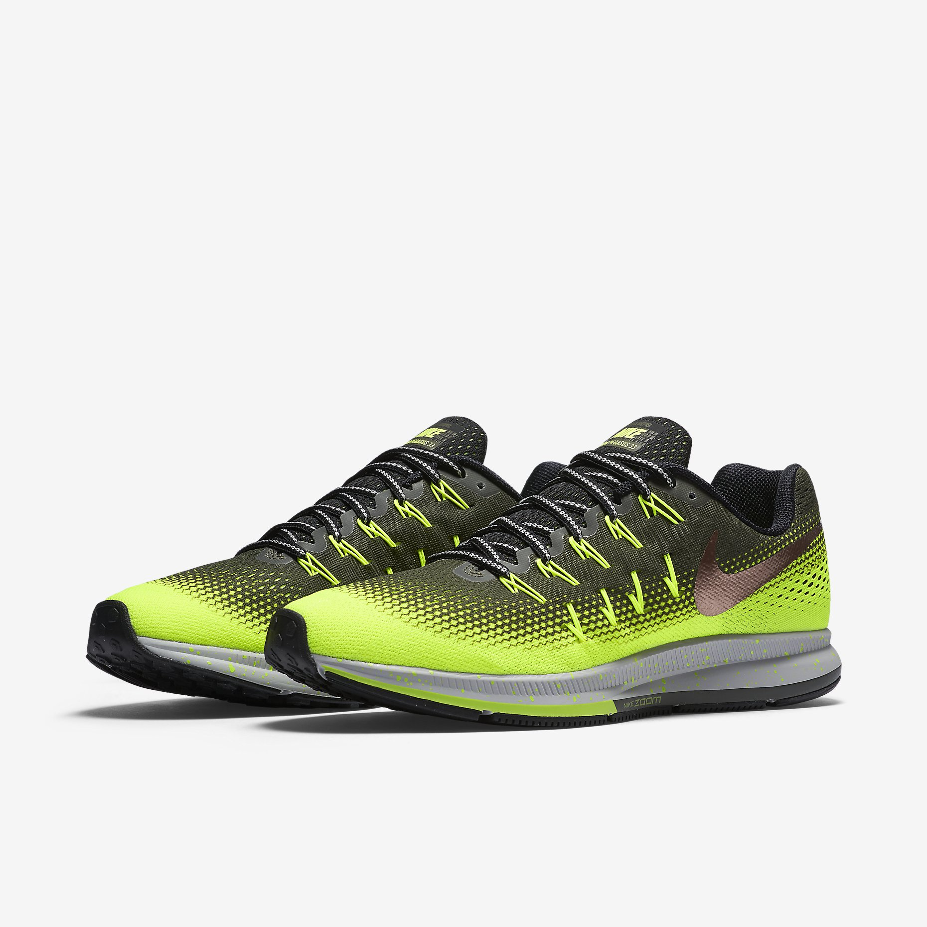 a76dd80574a Nike Pegasus 33 Shield Men s Running Shoes - Alton Sports