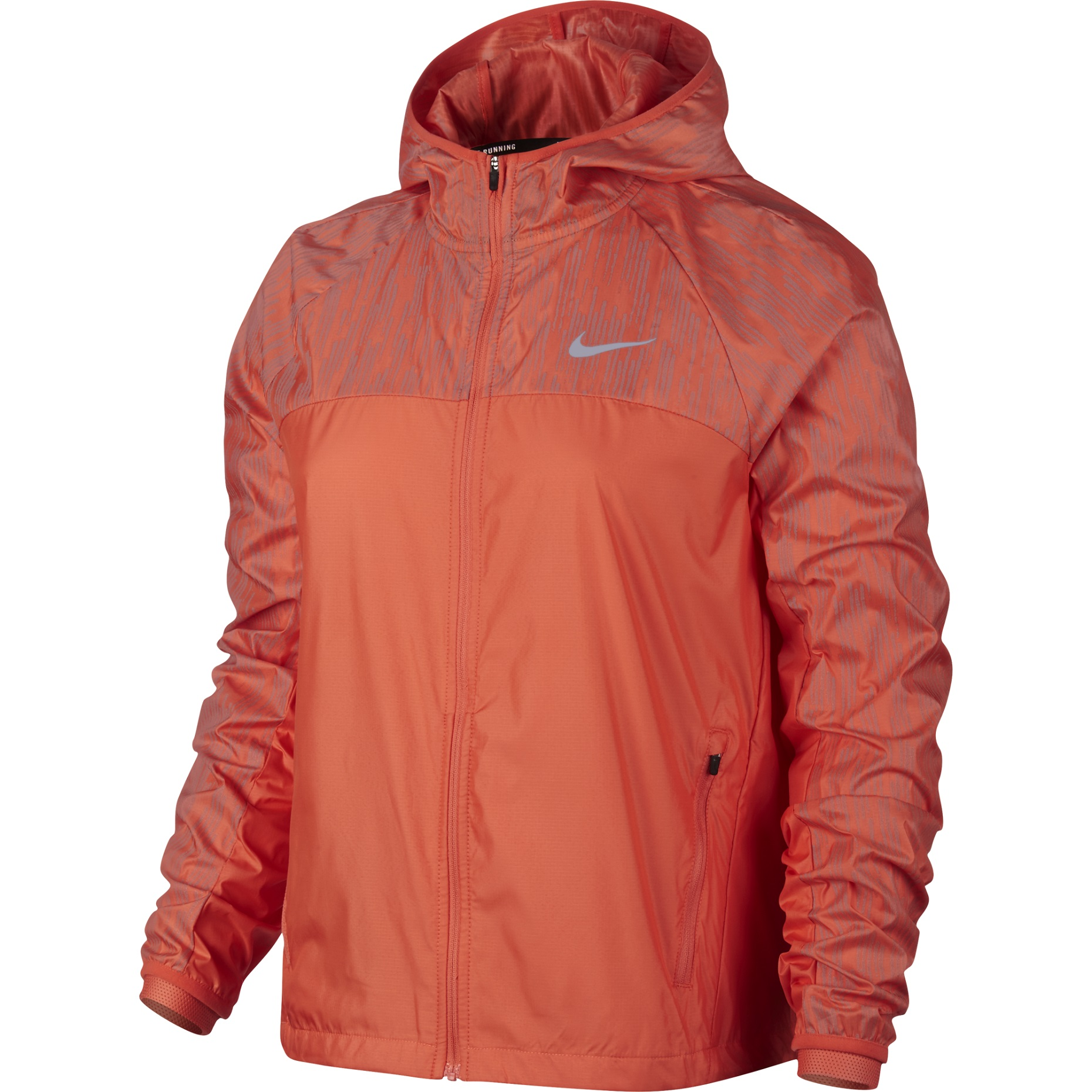 Nike Shield Flash Women's Running Jacket Coral