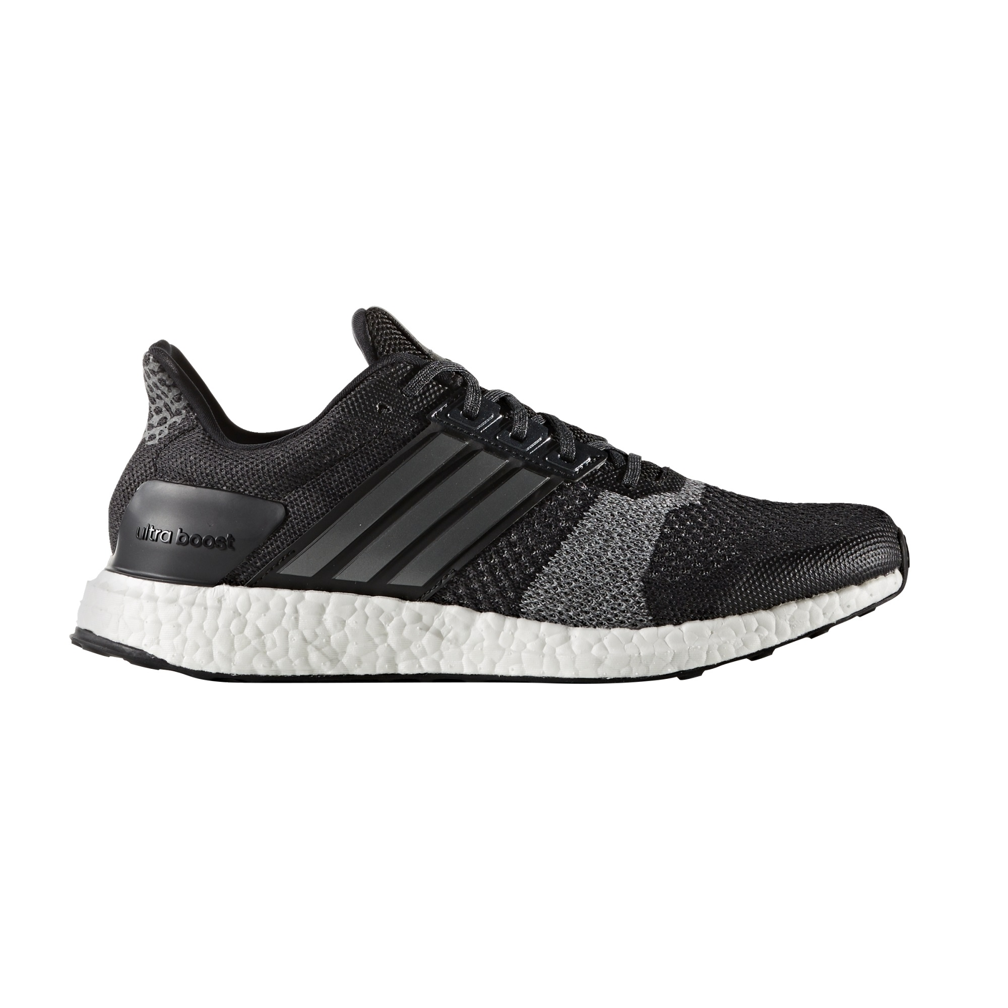 Adidas Ultraboost ST Men s Running Shoes - Black - Alton Sports 55896cd2bfa89