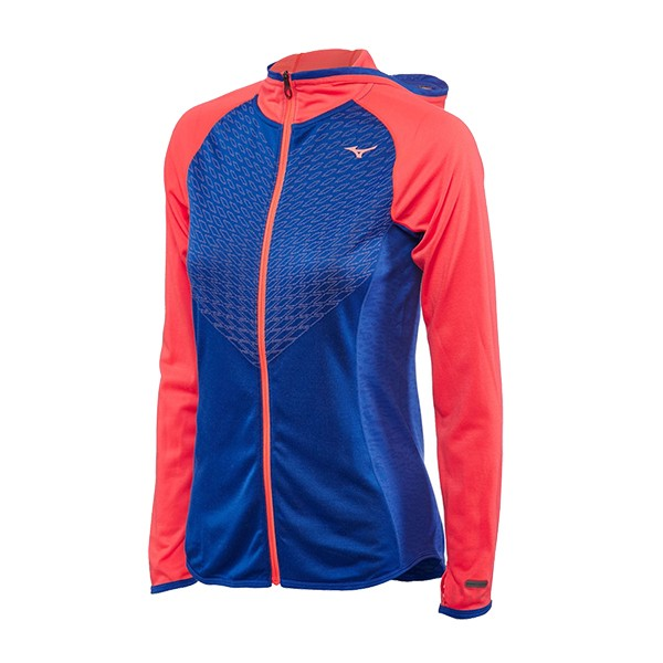 Mizuno Breath Thermo Women's Body Mapping Hoody