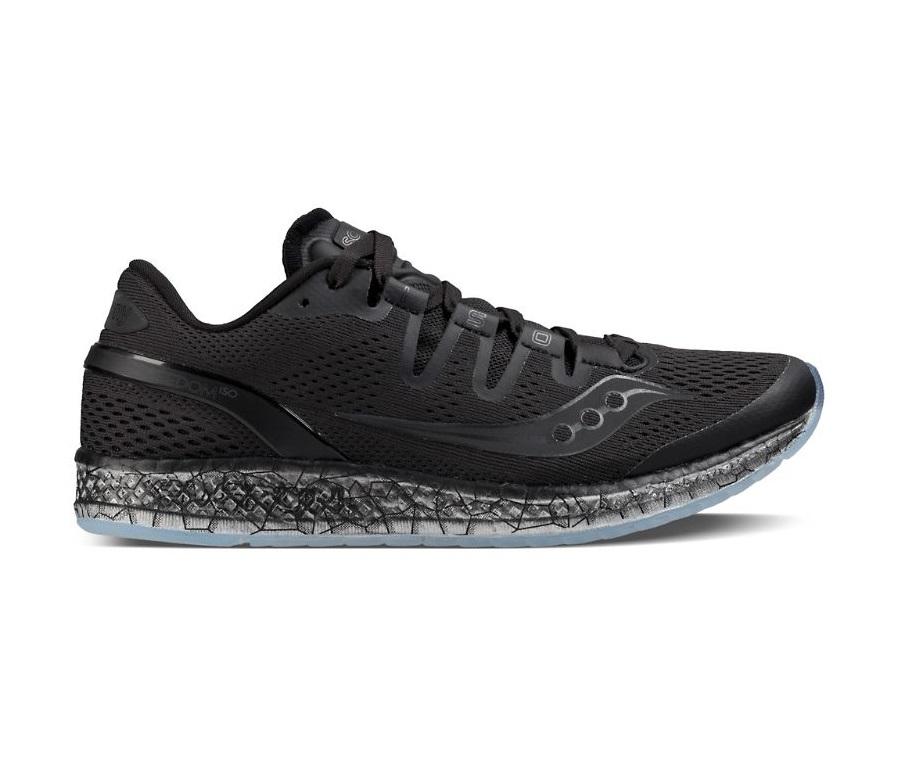 Saucony Freedom ISO Black Womens Running Shoes
