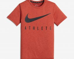 Nike Dry Boys Short Sleeve Training Top