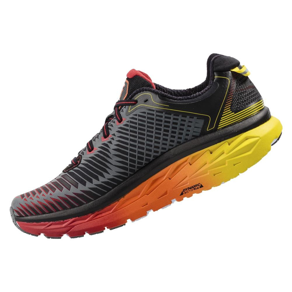 hoka one one arahi mens running shoes alton sports
