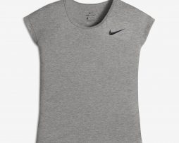 Nike Dry Fit Girls Short Sleeve Training Top