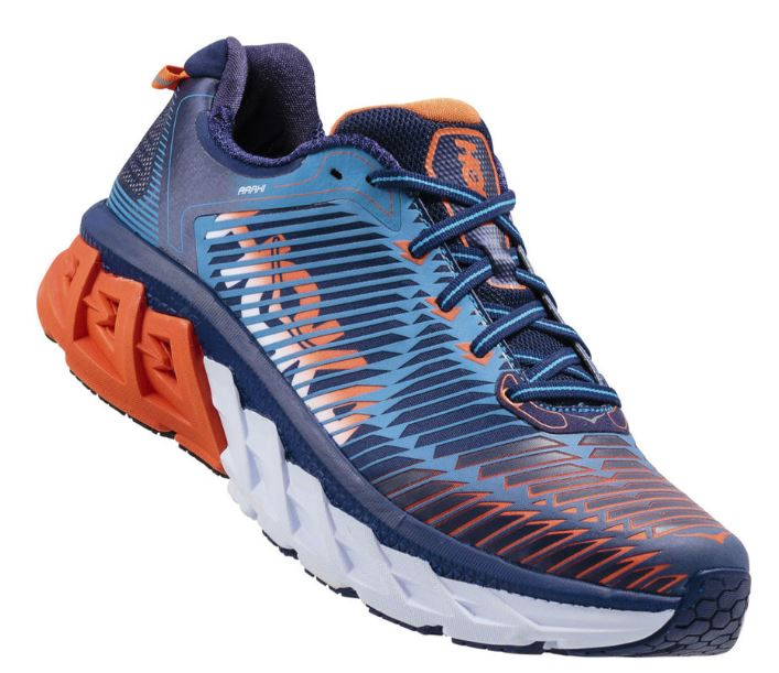 Arahi Mens Blue Red Orange