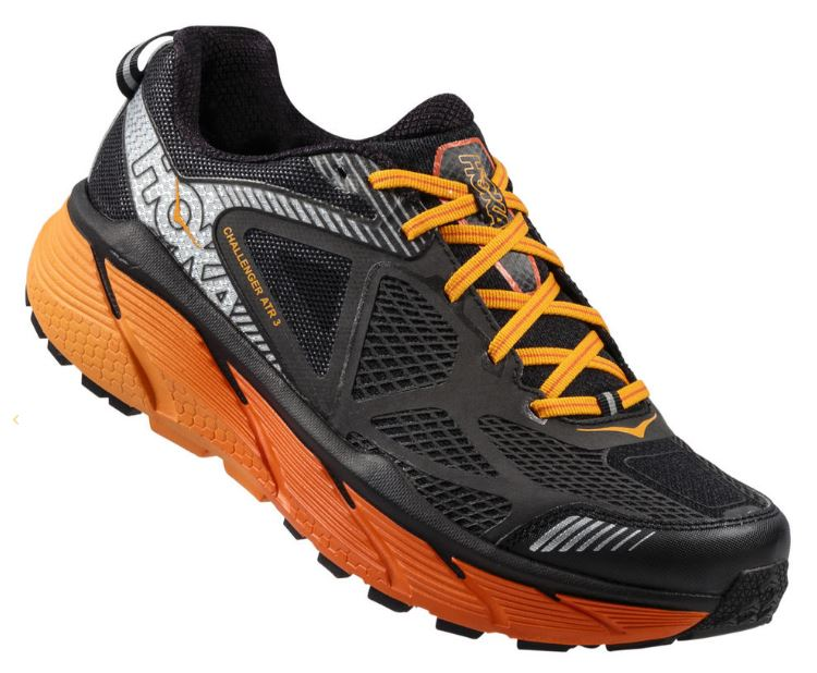 Challenger ATR 3 Mens Black Red Orange