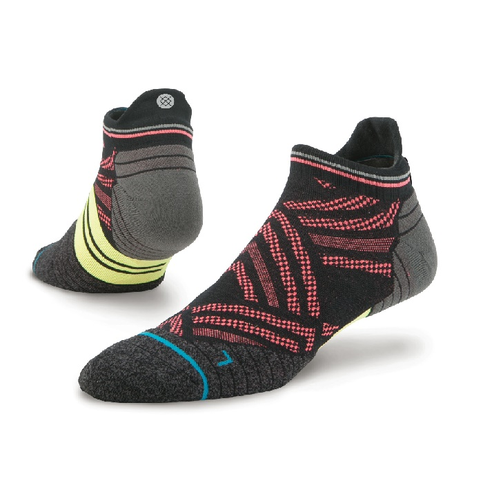 Stance Speed Tab Fusion Run Socks (M)