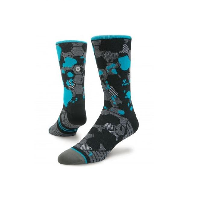 Stance Run Honor Tab Crew Lightweight Socks (M)