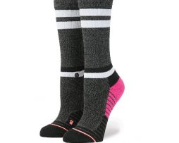 Stance Villainess Fusion Athletic Crew Socks (W)