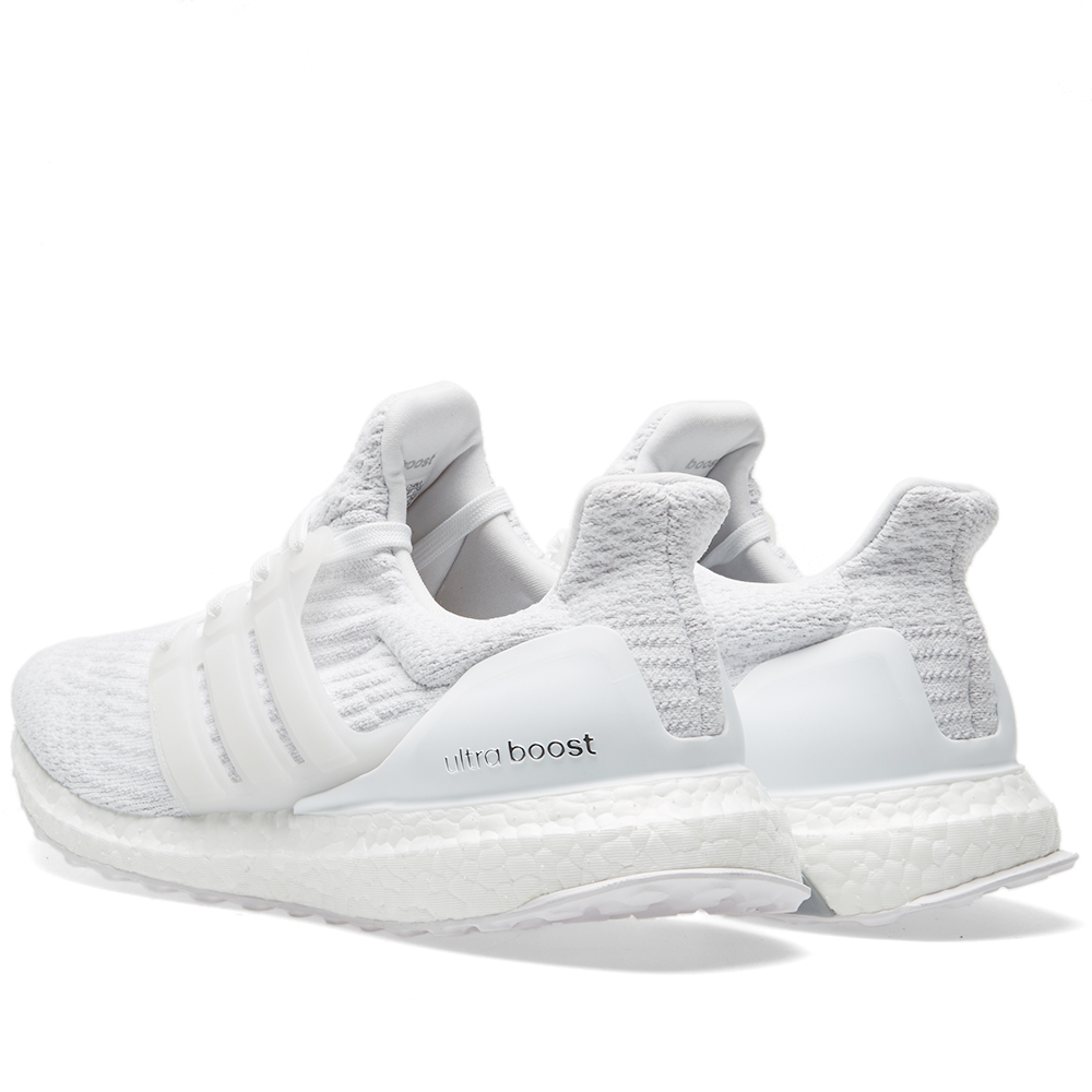 Adidas Ultraboost 3.0 White Men s Shoes - Triple White - 2017 6fbcaf089