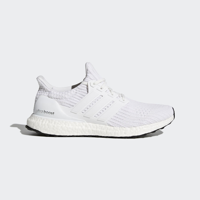 best service b9e9e 6a1a0 Adidas UltraBOOST 4.0 Men s Running Shoes   Triple White