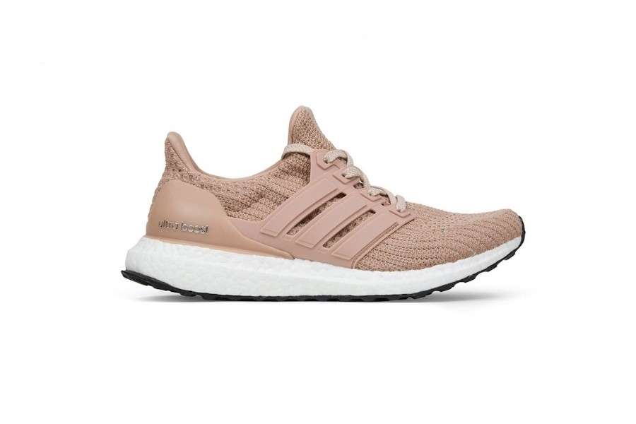 low priced c0fae fa585 Adidas UltraBOOST 4.0 Womens Running Shoes  Champagne Pink