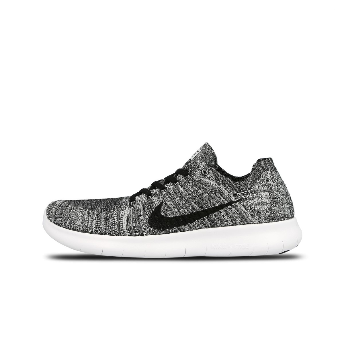 fbe230eb1f Nike Free RN Flyknit Men's Running Shoes | Grey - ALTON SPORTS