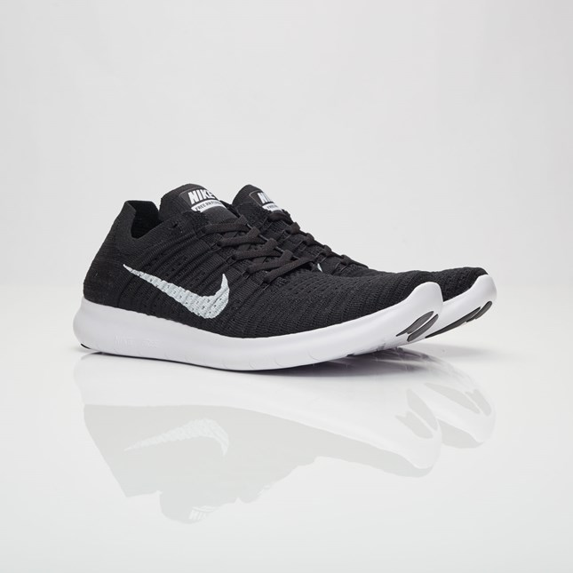 buy online 8cda4 372f3 Nike Free RN Flyknit Men s Running Shoes   Black
