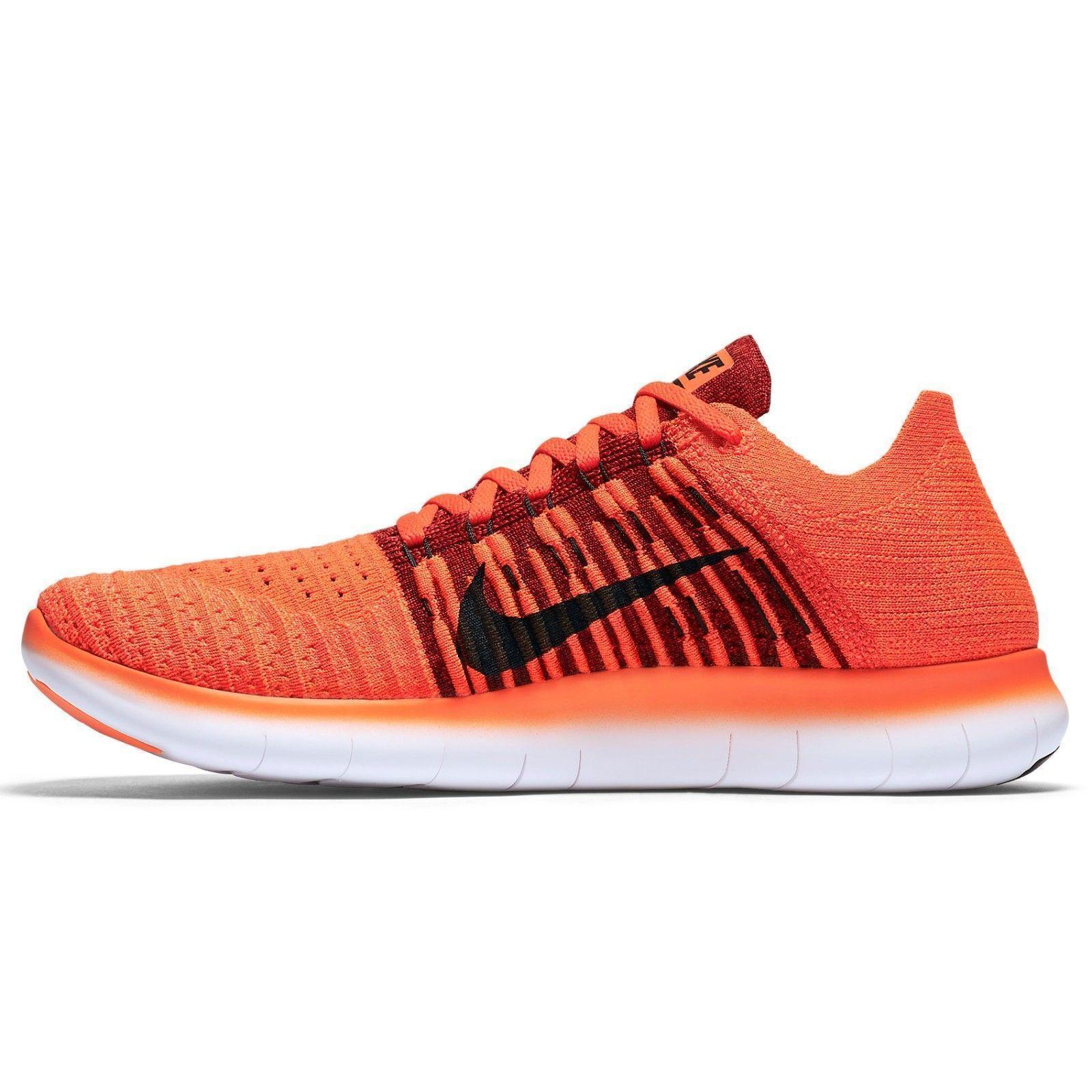 Nike Free RN Flyknit Mens Running Shoes  Crimson