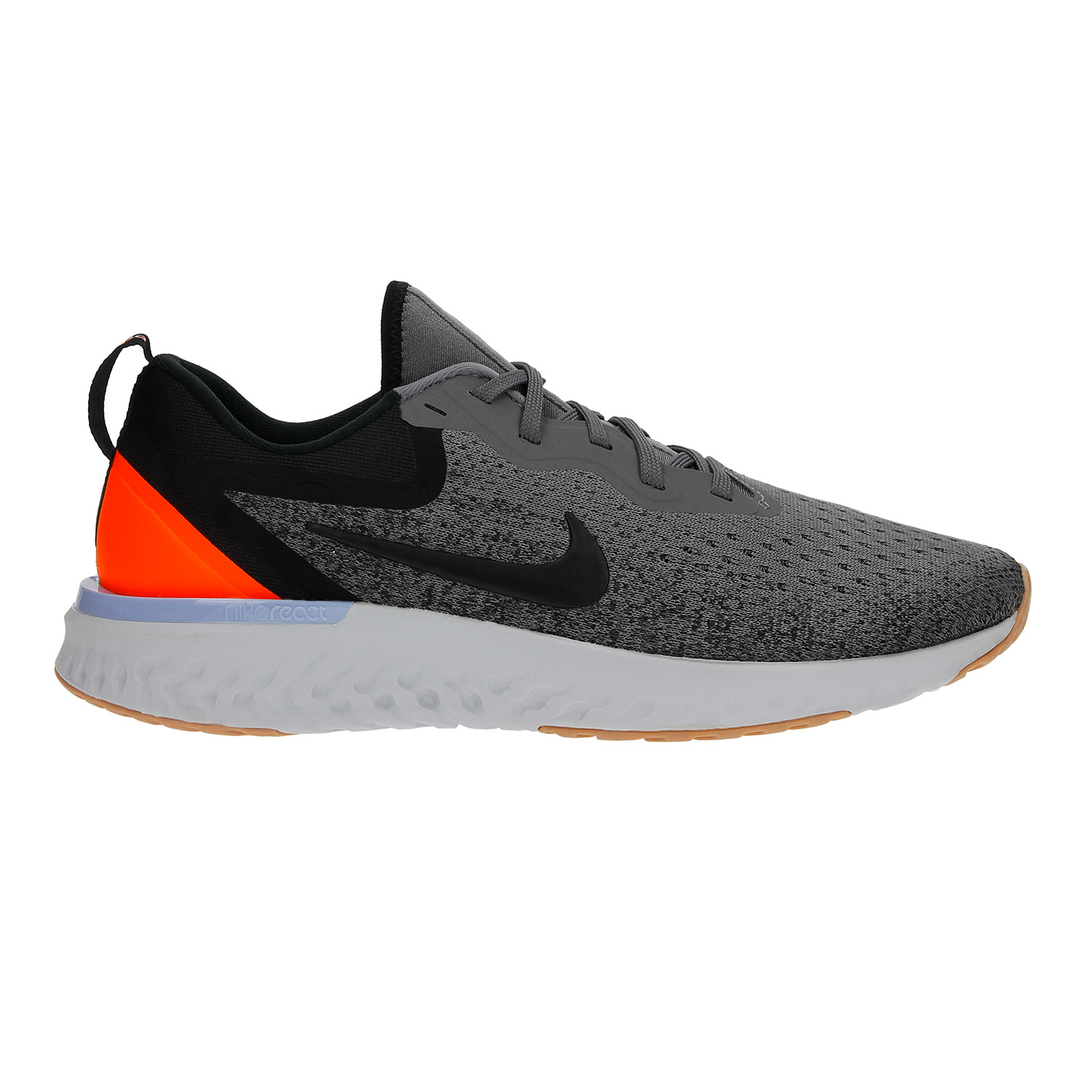 half off 2b834 2a783 Nike Odyssey React Women s Running Shoes   Grey Orange