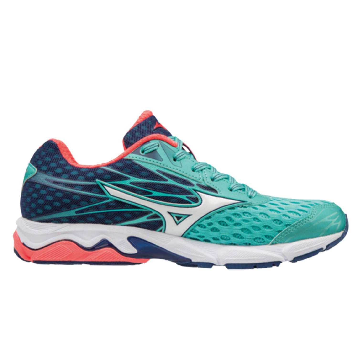 b13b42c224df Mizuno Wave Catalyst 2 Women's Running Shoes| Turquoise/Coral ...