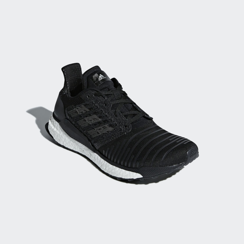 buy popular 7ce7a 6bd62 Adidas SolarBoost Women's Running Shoes | Core Black
