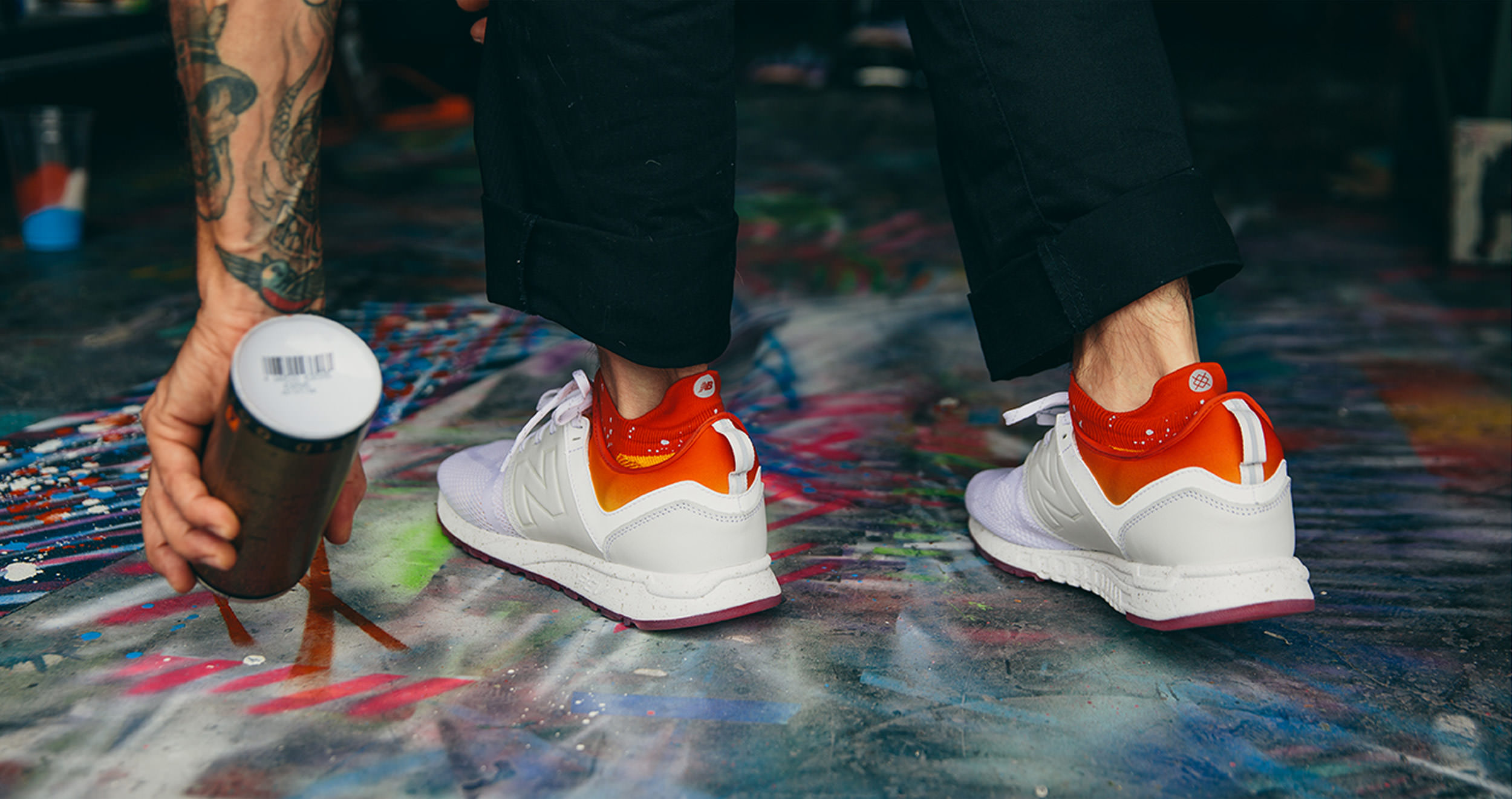 New Balance x Stance 247 Men's Shoes | All Day