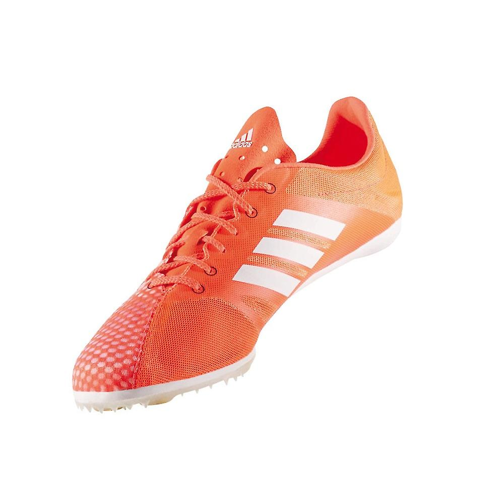 huge discount 8ffeb a5a58 Adidas Adizero Ambition Men s Running Spikes   Red White