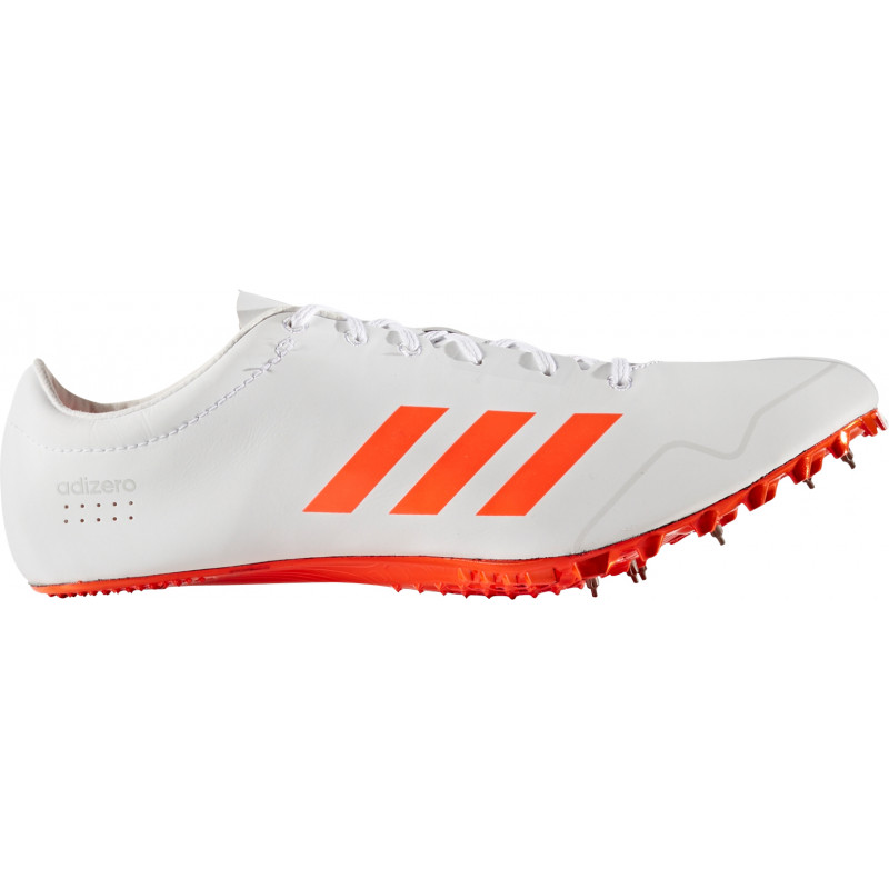 reputable site 77636 c124d Adidas Adizero Prime Sprint Spikes  WhiteRed