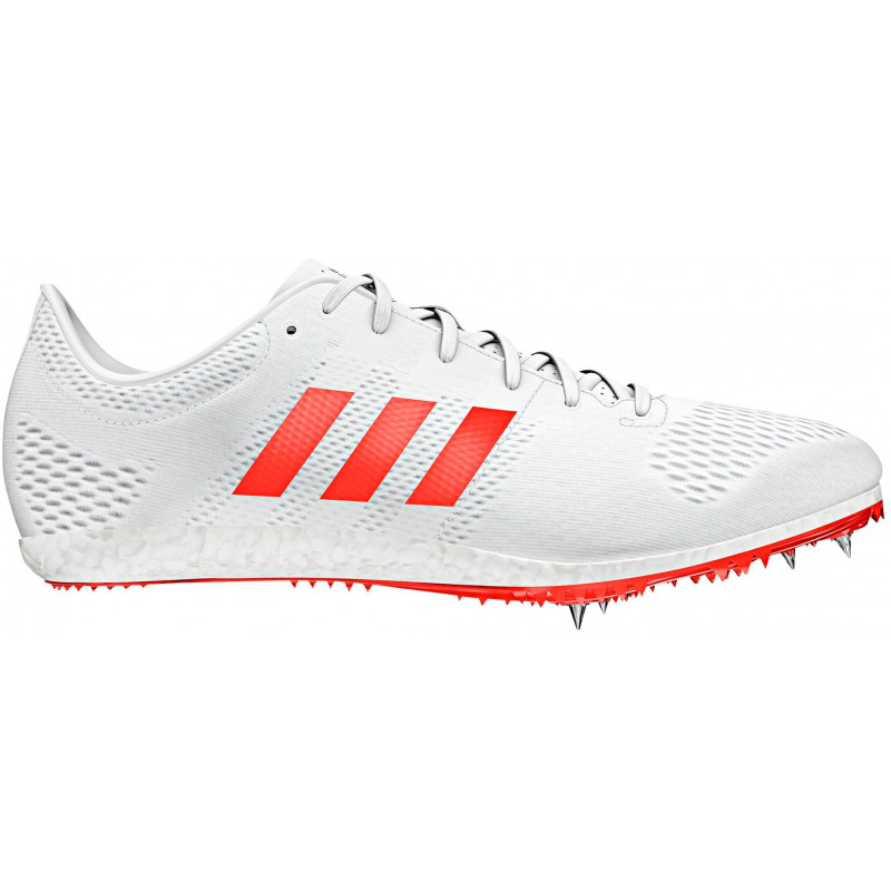 huge discount bfe27 04365 Adidas Adizero Avanti Track Spikes   White Red