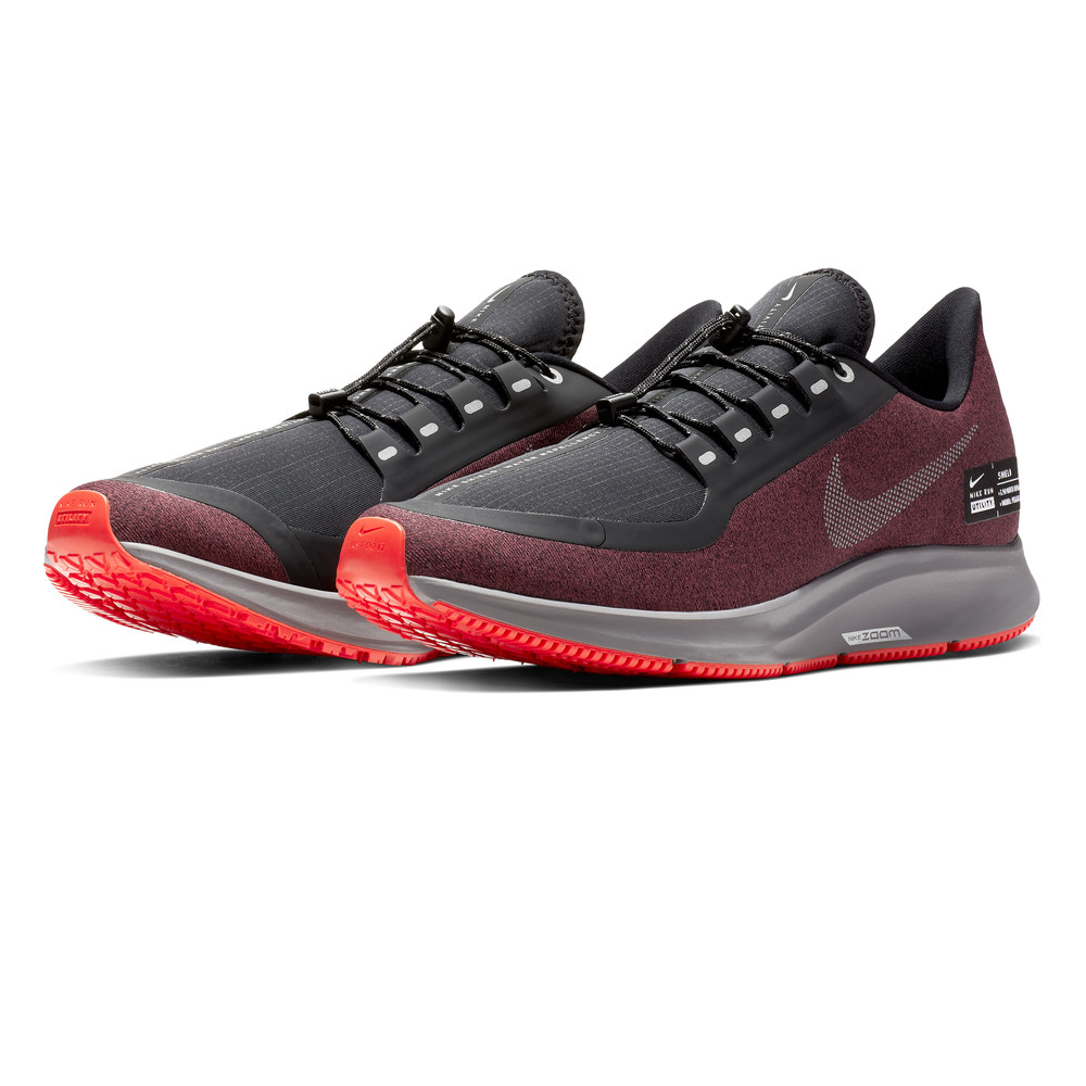 new arrival 8b018 f64f8 Nike Air Zoom Pegasus 35 Shield Men's Running Shoes | Red/Silver