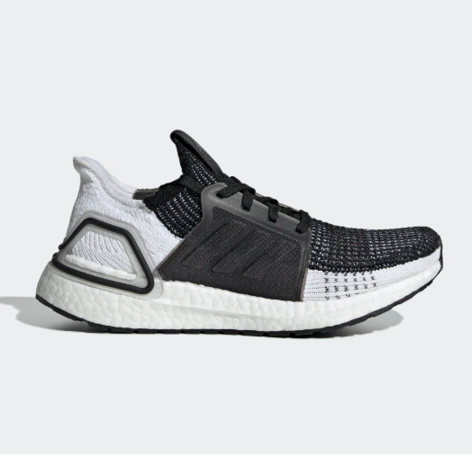 Adidas Ultra Boost 19 Women S Running Shoes White Black
