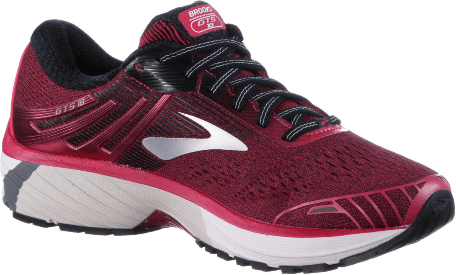 low priced f3f18 8f7d1 Brooks Adrenaline GTS 18 Women's Running Shoes | Pink