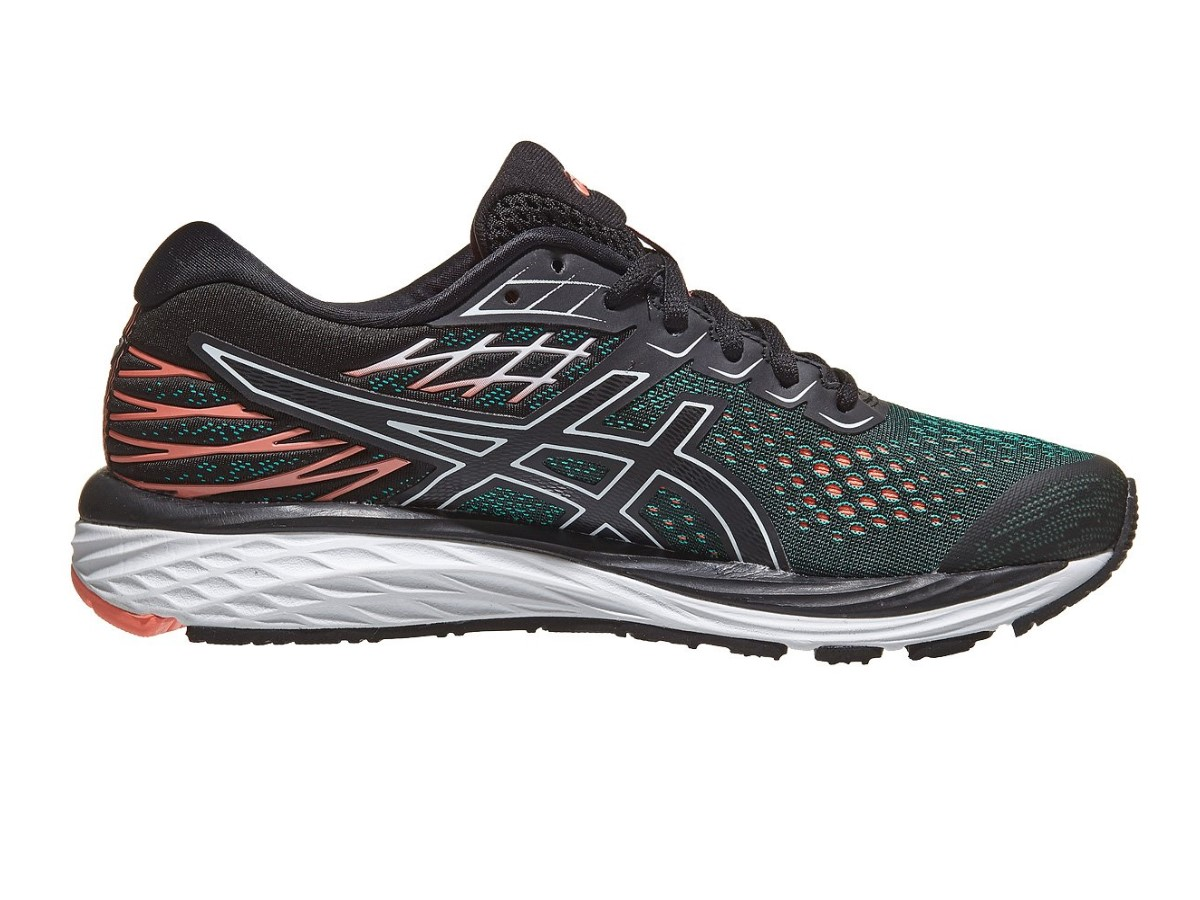 the latest 01a18 a994b Asics Gel-Cumulus™ 21 Women's Running Shoes | Black / Sun Coral